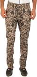 Skie Studio Slim Fit Men's Beige Trouser...