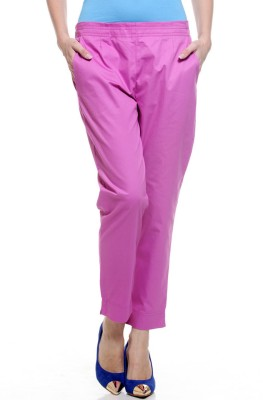 My Addiction Regular Fit Women's Pink Trousers