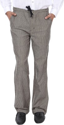 Reevolution Regular Fit Mens Black, Beige Trousers