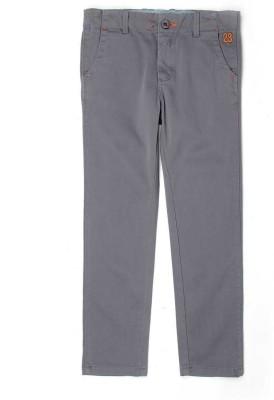 London Fog Regular Fit Boy's Grey Trousers