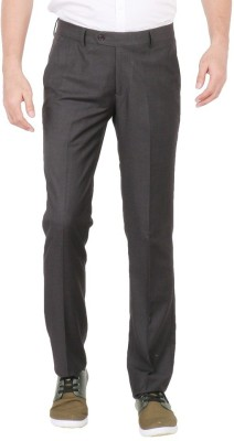 Easies Slim Fit Men's Grey Trousers