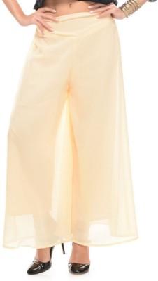 shreya Regular Fit Women's Beige Trousers