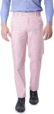 SKOOKIE Regular Fit Men's Maroon Trousers
