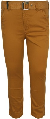 Jazzup Regular Fit Boy's Orange Trousers