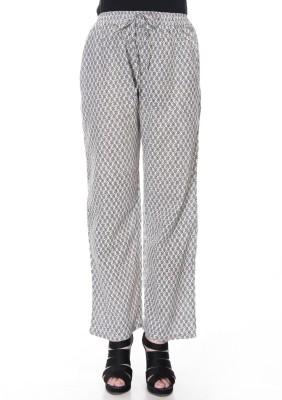 Falak Regular Fit Women's Black Trousers