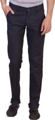 Maciej Regular Fit Men's Dark Blue Trousers