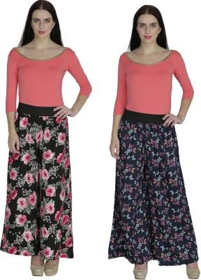 Shopingfever Regular Fit Women's Black, Dark Blue Trousers