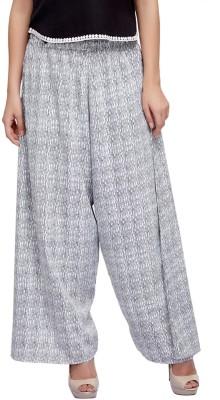 Lifestyle Retail Regular Fit Women's White, Black Trousers