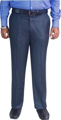 Kinger Regular Fit Men's Blue Trousers