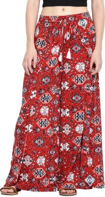 Paprika Regular Fit Women's Multicolor Trousers