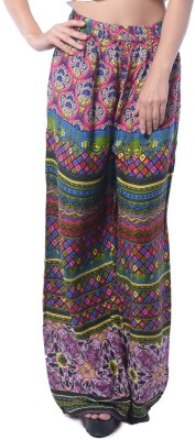 Stri Regular Fit Women's Multicolor Trousers