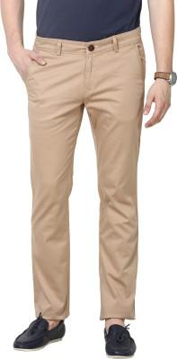 3Concept Slim Fit Men's Beige Trousers