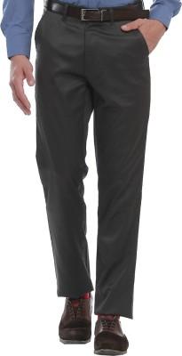 Jogur Regular Fit Men's Grey Trousers