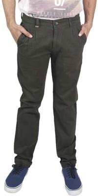Rollister Slim Fit Men's Grey Trousers