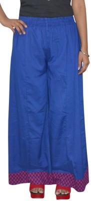 Shreeka Regular Fit Women's Blue, Maroon Trousers