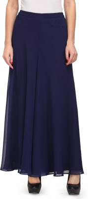 Just Wow Regular Fit Women's Dark Blue Trousers