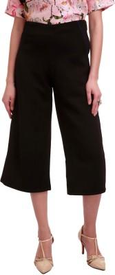 Sassafras Regular Fit Women,s Black Trousers