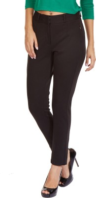 MARTINI Slim Fit Women's Black Trousers