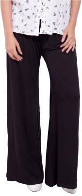 diva boutique Regular Fit Womens Black Trousers