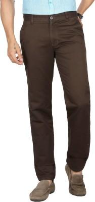 Sloper Regular Fit Men's Brown Trousers