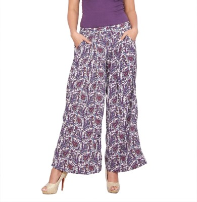Alook Women's Multicolor Trousers at flipkart
