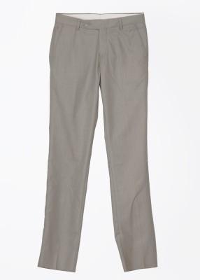 John Players Slim Fit Men's Grey Trousers