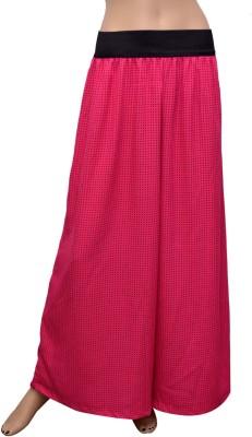 GraceDiva Regular Fit Women's Pink, Black Trousers
