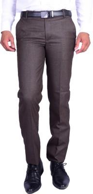 Machu Regular Fit Men's Brown Trousers