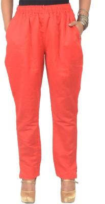 Shopatplaces Regular Fit Women's Pink Trousers