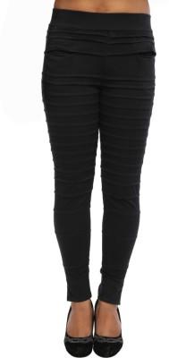Tryfa Regular Fit Women's Black Trousers