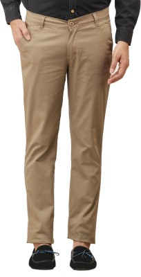 Histeria Slim Fit Men's Brown Trousers