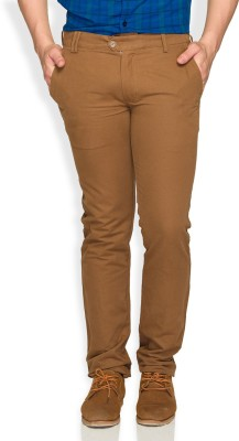 ColorPlus Regular Fit Men's Brown Trousers