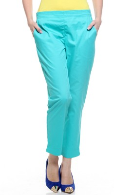 My Addiction Regular Fit Women's Blue Trousers