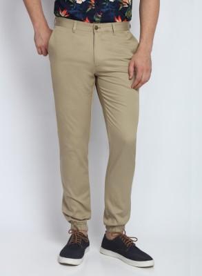SUITLTD Skinny Fit Men's Beige Trousers