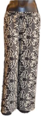 Xpression Regular Fit Women's Black Trousers
