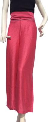 Jupi Regular Fit Women,s Pink, Black Trousers