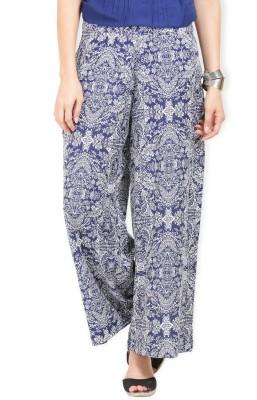 Max Regular Fit Women's Blue Trousers