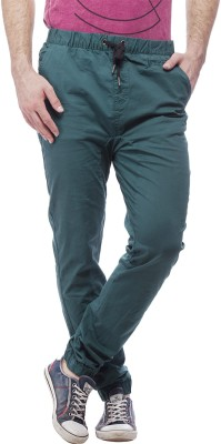 St. Goliath Regular Fit Men's Green Trousers