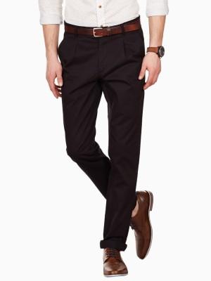 American Swan Slim Fit Men's Black Trousers