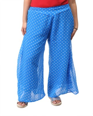 Awesome Regular Fit Women's Blue Trousers