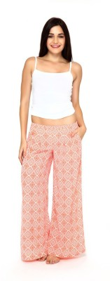 Mystere Paris Regular Fit Women's Orange Trousers