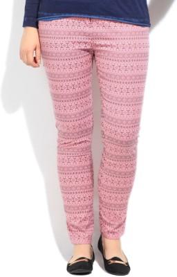 Cherokee Women's Pink Trousers at flipkart