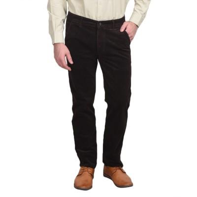 Ruace Regular Fit Men's Brown Trousers