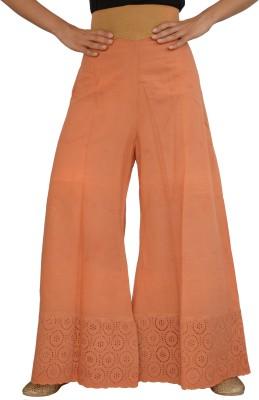 Jupi Regular Fit Women,s Brown Trousers