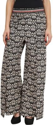 Citypret Regular Fit Women's Black Trousers