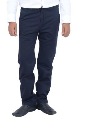 Studio Nexx Regular Fit Men's Dark Blue Trousers