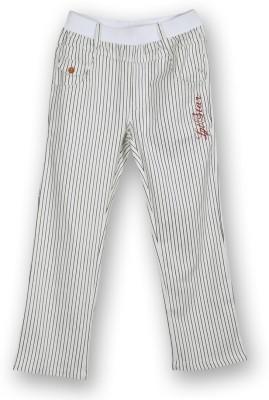 Lilliput Regular Fit Boy's White Trousers