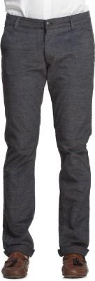 Beevee Regular Fit Men,s Grey Trousers