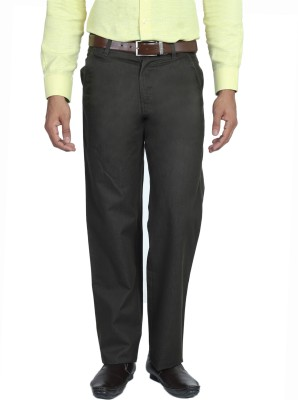 Live In Slim Fit Men's Green Trousers