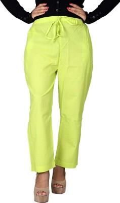 Chhipaprints Regular Fit Women's Green Trousers